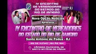 IV Encontro de Vereadoras do Estado do Rio de Janeiro