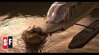 getlinkyoutube.com-Crocodile vs. Helicopter - Lake Placid (1999)