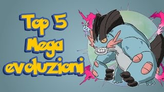 getlinkyoutube.com-Top 5 Megaevoluzioni Pokemon