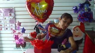 getlinkyoutube.com-Arreglo con Globos www.arreglobos.com