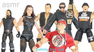 getlinkyoutube.com-ASMR WWE Elite 37 Action Figure Toy Set Unboxing & RELAXATION Reviews!!