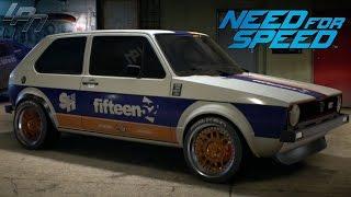 getlinkyoutube.com-NEED FOR SPEED (2015) - VW GOLF MK1 GTI GAMEPLAY (TUNING, CRUISING,  DRIFTING, RACES)