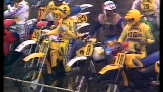 1983 GP 500cc Motocross St. Anthonis NL Hakan Carlqvist New World Champion