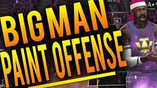 getlinkyoutube.com-NBA 2K16 Tips: Best BIG MAN Paint Offense - How To Score In The Paint EVERY TIME With a BIG MAN!