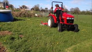Siromer finishing mower