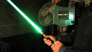 getlinkyoutube.com-Ignited Redeemer custom Lightsaber