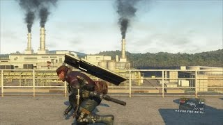 [MGS5] 小ネタ 油田を屋上から攻める - Rooftop of Oilfield [Glitch]