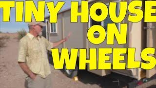 getlinkyoutube.com-Nomad Lou Shows His Tiny Houses Example on Wheels
