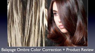 getlinkyoutube.com-Balayage Ombre Color Correction Hair Painting