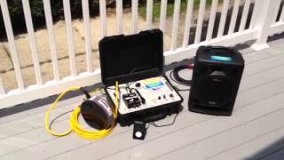 Portable sound system for Synchro