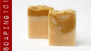 How to Use Dehydrated Additives in Soap {honey, vanilla, milk + bee pollen} S3W5