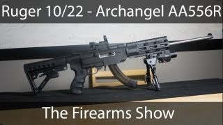 getlinkyoutube.com-Ultimate Assault Rifle - Ruger 10/22 Archangel AA556R
