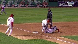 getlinkyoutube.com-Cardinals walk off on obstruction call