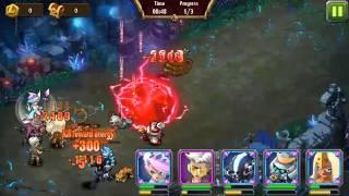getlinkyoutube.com-Magic Rush Stage 50 Crystal Dungeon