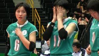 Volleyball 柏井 × 文京学院大女 2S 春高バレー2013-107