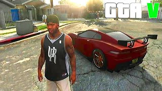 getlinkyoutube.com-Grand Theft Auto V Customizing one of the Best Car in the game and Racing - Part #02 [GTA V]