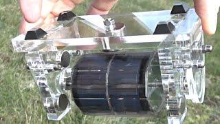 getlinkyoutube.com-Free Energy Magnet Motor ( free electricity, no water energy, no wind, no battery )  | WasabySajado