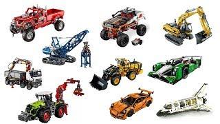 getlinkyoutube.com-TOP 27 biggest Lego Technic sets ever