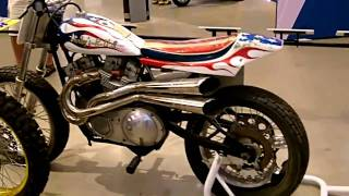 Harley Davidson XR750.Flat tracker.