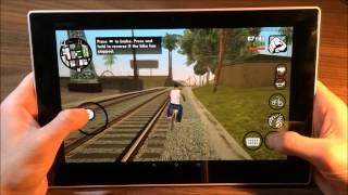 getlinkyoutube.com-GTA San Andreas - Android - Sony Tablet Z