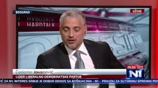 getlinkyoutube.com-N1 Pressing: Ejup Ganić i Čedomir Jovanović (13.05.2015.)