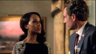 "getlinkyoutube.com-Scandal Olitz: 5x08 (1) Fitz: ""Anything Else, Cy?"" Cy: ""We're living in a new world, Red!"""