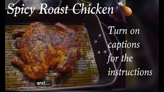 getlinkyoutube.com-Spicy Roast Chicken - Indian style!!! (turn captions ON)