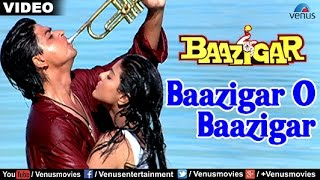 getlinkyoutube.com-Baazigar O Baazigar Full Video Song | Baazigar | Shahrukh Khan, Kajol | Kumar Sanu & Alka Yagnik