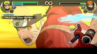 getlinkyoutube.com-Naruto Shippuden Ultimate Ninja Impact Walkthrough Part 39 Sage Naruto vs Tendo Pain (60 FPS)