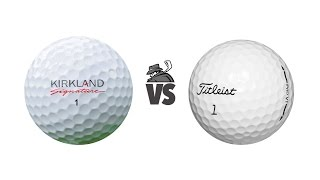 getlinkyoutube.com-Kirkland Signature (vs) Titleist Pro V1