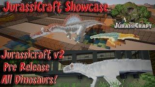 getlinkyoutube.com-Indominus Rex JurassiCraft 2.0 Showcase All JurassiCraft Dinosaurs  Spinosaurus and More