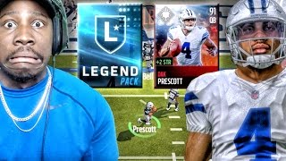 getlinkyoutube.com-91 DAK PRESCOTT & LEGEND PACK OPENING! Madden Mobile 17 Gameplay Ep. 9