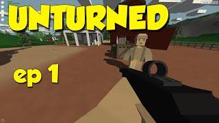 Unturned! Ep.1 - Dansk gameplay