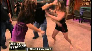 getlinkyoutube.com-What A Knockout! (The Jerry Springer Show)