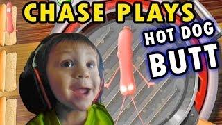 "getlinkyoutube.com-Chase plays ""Hot Dog Butt"" + 2 Player Flappy Bird (2 Yr. Old Face Cam)"