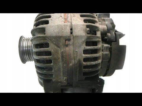 Как снять генератор opel Zafira a 2.0 2.2 dti шкив генератора замена, свист, износ шкива