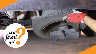 Where To Find And How To Remove The SPARE WHEEL   Peugeot 307 SW (2005)