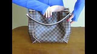 getlinkyoutube.com-Louis Vuitton CAISSA HOBO Unboxing Rose Ballerine