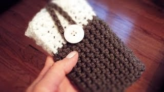 getlinkyoutube.com-♡ How To: Crochet Phone Case
