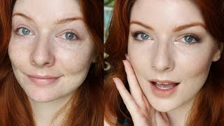getlinkyoutube.com-Fair Skin Foundation Routine (Mostly Drugstore / Full Coverage)