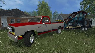 getlinkyoutube.com-Farming Simulator 2015 | Logging Company | Tract 1- Ep. 1