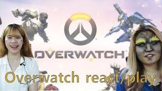 getlinkyoutube.com-Koreans react to Overwatch Trailer & Try Play