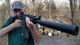 getlinkyoutube.com-VEPR 12 AK Shotgun Suppressed