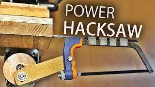 getlinkyoutube.com-How To Make A Drill Press Hacksaw