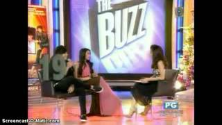 getlinkyoutube.com-KathNiel on The Buzz ( Dec. 16, 2012 )