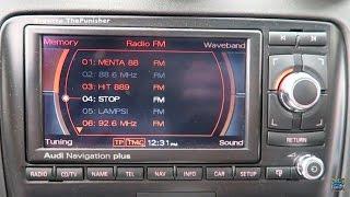 Audi MMI Navigation Plus Review