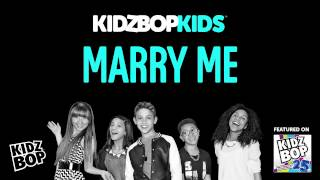 getlinkyoutube.com-KIDZ BOP Kids - Marry Me (KIDZ BOP 25)