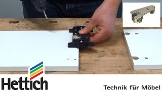 getlinkyoutube.com-Cabinet assembly with VB fittings and DrillJig VB from Hettich, incl. drilling cabinet side panels