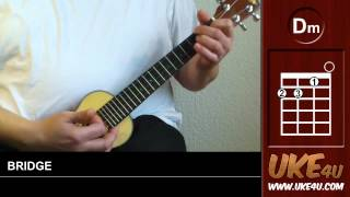 Somebody That I Used To Know ( Gotye ) - Ukulele Tutorial,Chords,Lyrics