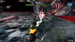 getlinkyoutube.com-Vindictus Suicide Squad Duo (Sword Lann & Crossgun Kai)